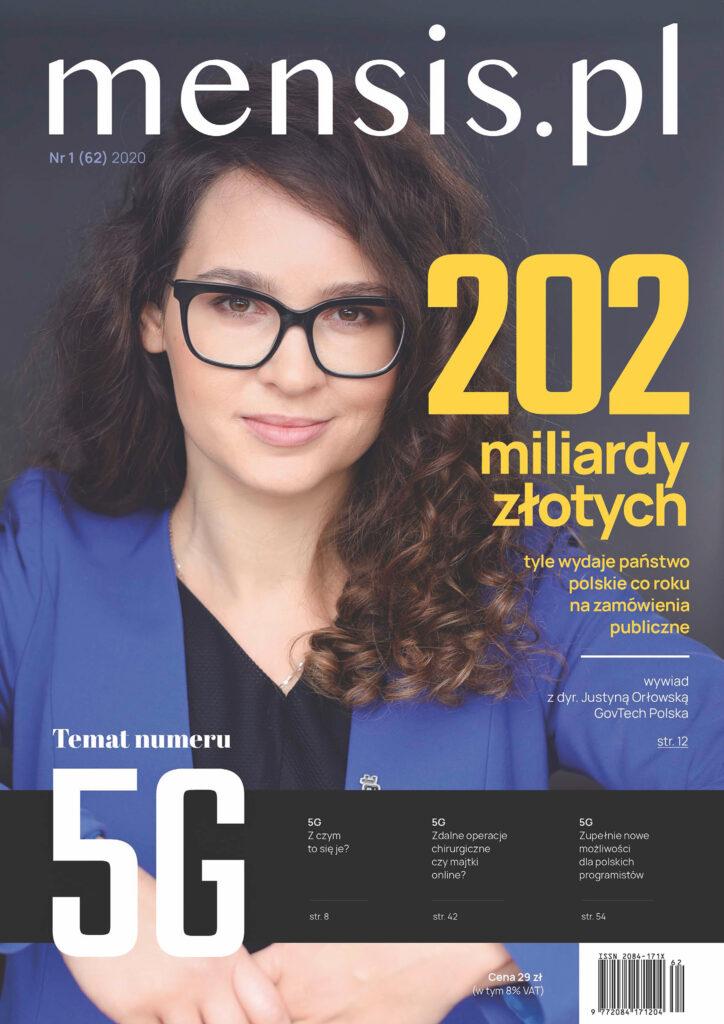 Okładka Mensis.pl nr. 62